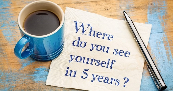 where do you see yourself in next 5 years in an interview
